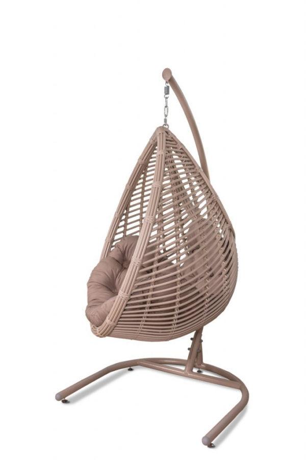 Подвесное кресло Капля Латте